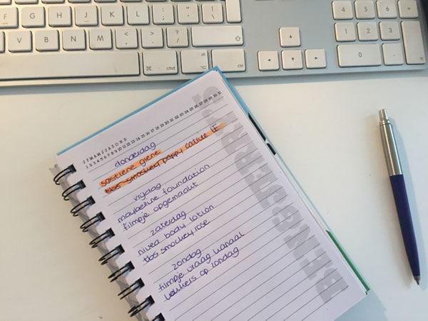 Lief dagboek en lezeressen week 3