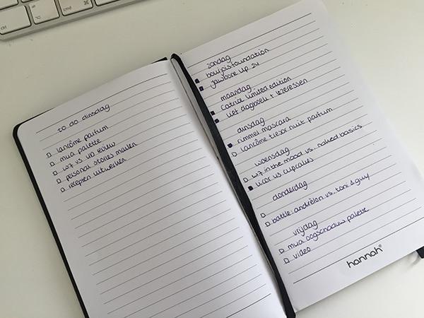 Lief dagboek en lezeressen week 15
