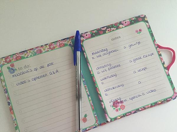 Lief dagboek en lezeressen week 33