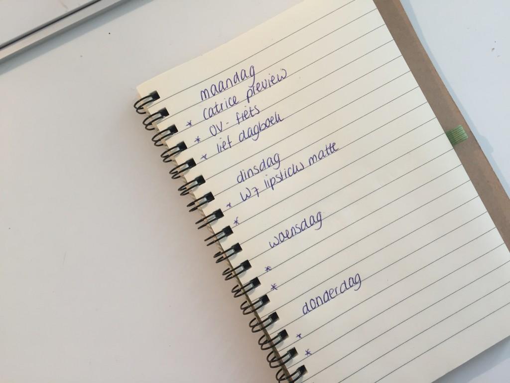 Lief dagboek en lezeressen week 42