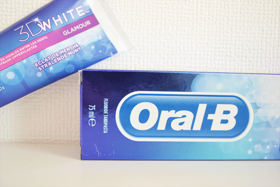 Oral B 3D White tandpasta