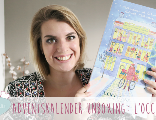 Adventskalender unboxing week #1: L'Occitane