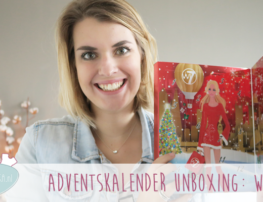 Adventskalender unboxing week #4: W7