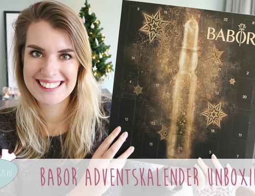Adventskalender unboxing week #3: Babor