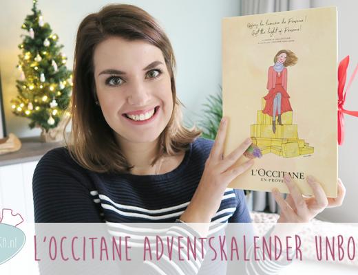 Adventskalender unboxing week #7: L'Occitane