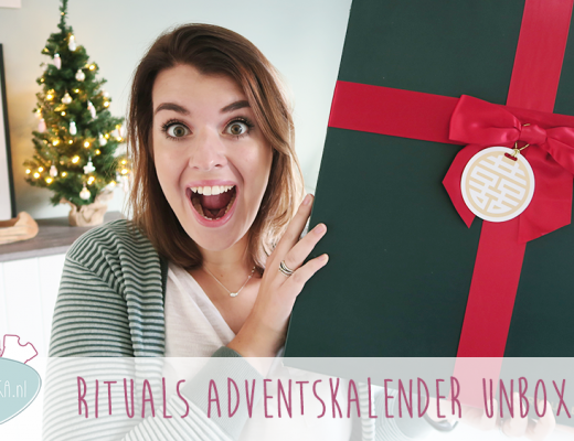 Adventskalender unboxing week #8: Rituals