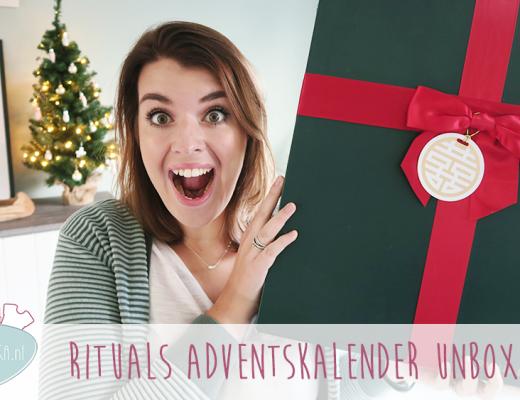 Adventskalender unboxing week #8: Rituals