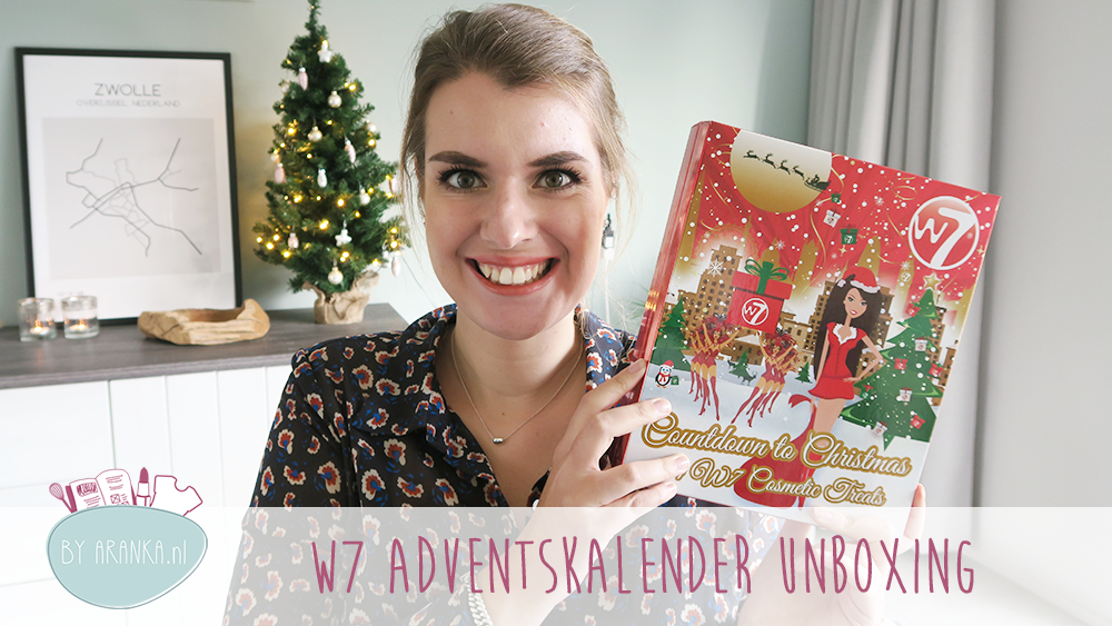Adventskalender unboxing week #5: W7