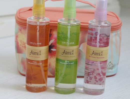 Oriflame Aimi Collection Fine Fragance Mists