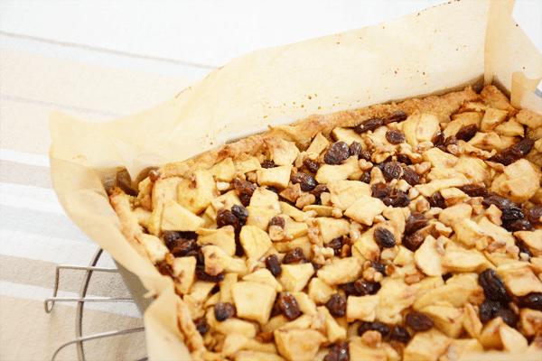 Recept: Appeltaart met walnoten