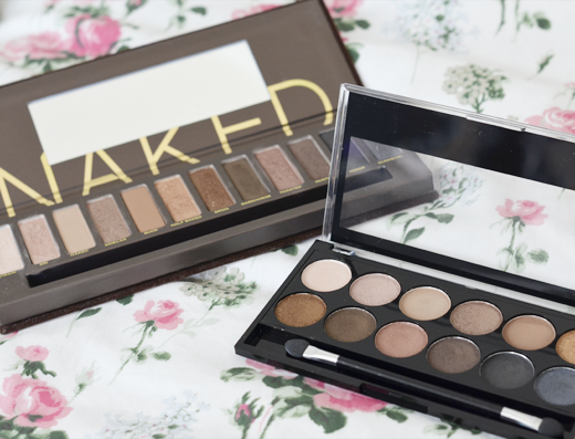 Battle: UD Naked 1 vs. MUA Undressed