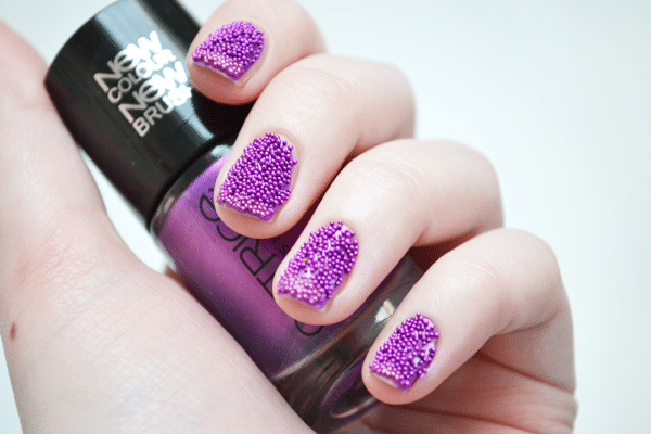 How-to: Caviar Nails