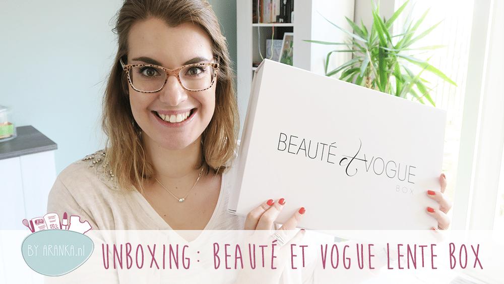 Unboxing: Beauté et Vogue Lente Box