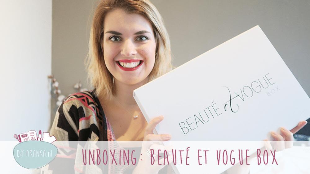 Unboxing: Beauté et Vouge Winter Box