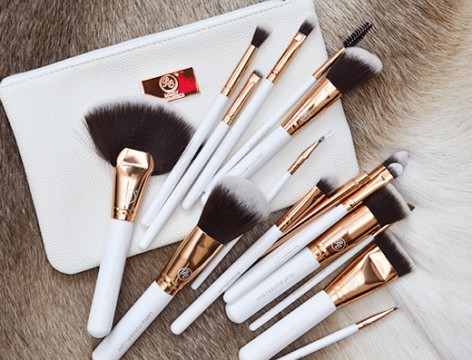 Boozy Cosmetics Rose Gold BoozyBrush Advanced Set