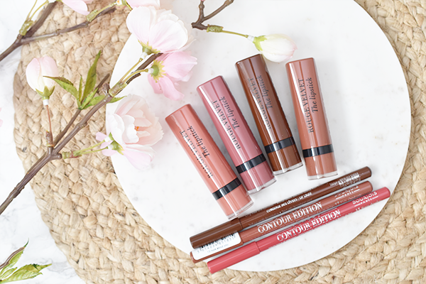 Bourjois Velvet Lipstick Nude Collection