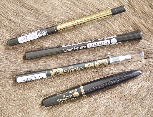 Bourjois Ultra Black Eyeliners