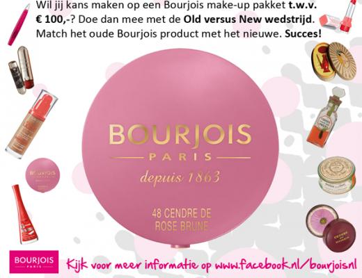 Bourjois Old Versus New wedstrijd