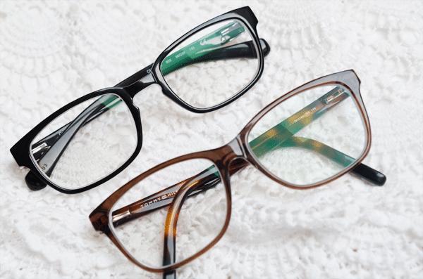Mijn twee nieuwe brillen!