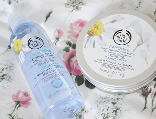 The Body Shop Camomile Make-Up Removal