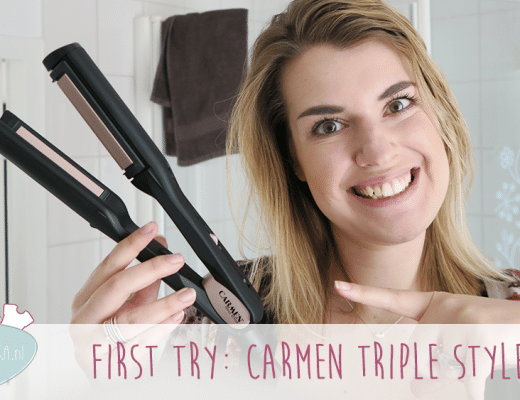 First Try: Carmen Triple Styler voor stijlen, krullen en waves!