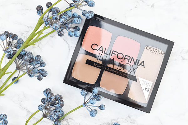 Catrice California In A Box Bronzer & Blush Palette