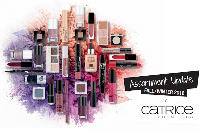 Catrice Assortiment Update Herfst/Winter 2016