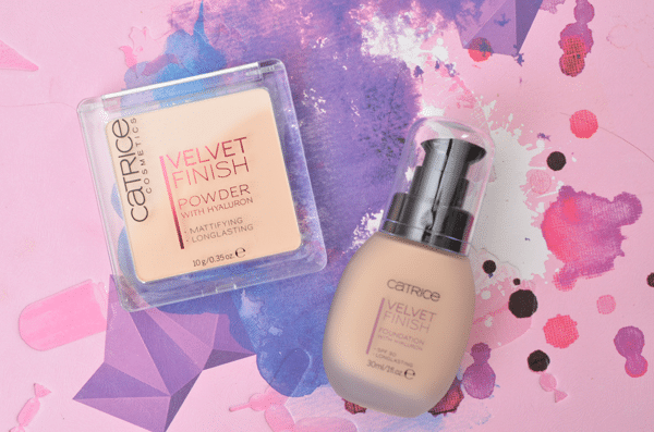 Catrice Velvet Finish Foundation & Powder