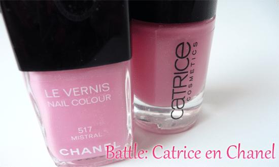 Battle: Chanel en Catrice