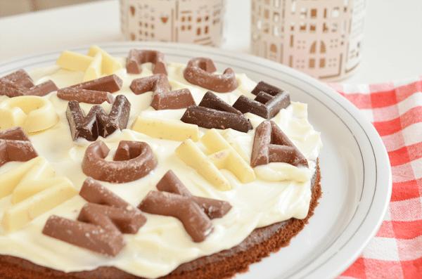 Recept: Chocoladeletter chocoladetaart