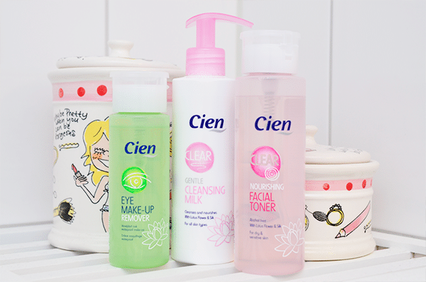 Cien Facial Toner Cleansing Milk Make-Up Remover