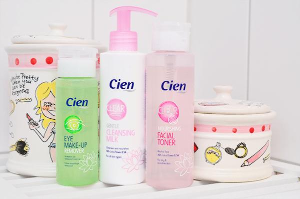 Cien (Lidl) Facial Toner, Cleansing Milk & Make-Up Remover