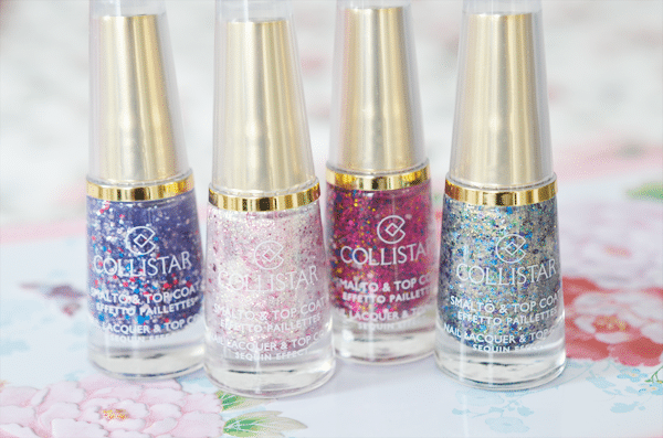 Collistar Smalto & Top Coat Effetto Paillettes