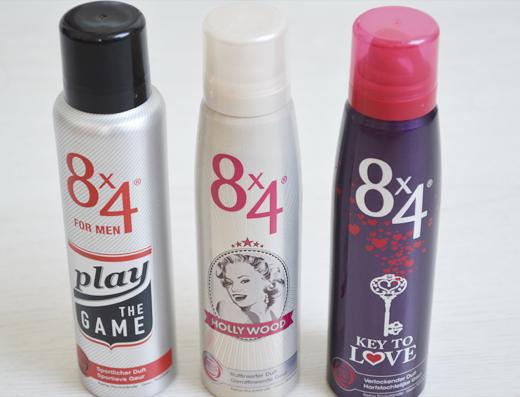 Nieuwe deodorants van 8×4