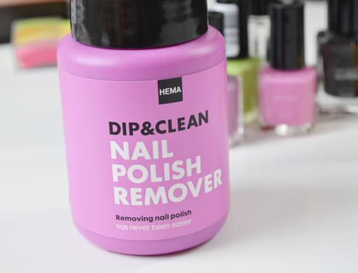 Hema Dip&Clean Nail Polish Remover