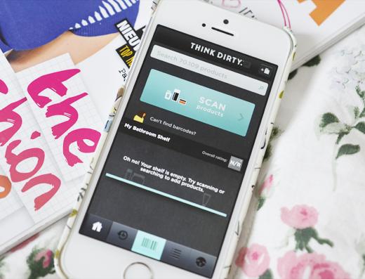 Nieuwe app Think Dirty waarschuwt voor ingrediënten!