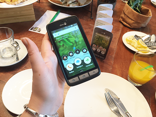 Moederdag tip: Doro 8031 Senioren Smartphone
