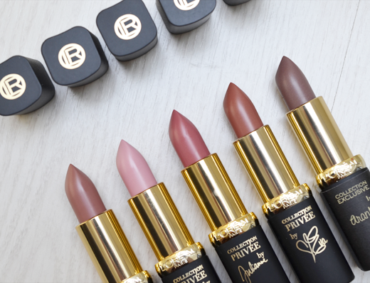 L'Oréal Collection Privée Lipsticks