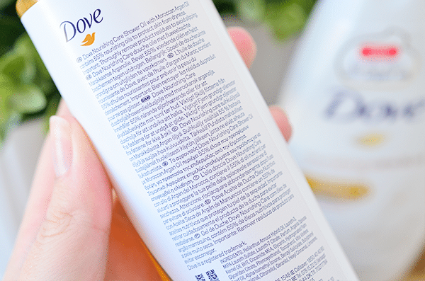 Dove Nourishing Care & Oil