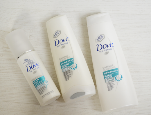 Review + Vlog: Dove Intense Repair & Split Ends Rescue