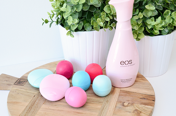 EOS lippenbalsem, hand & body lotion