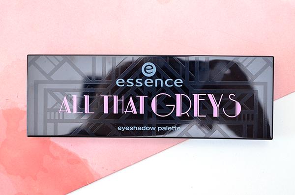 Essence All That Greys Eyeshadow Palette