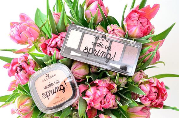Essence Wake Up, Spring! Eyeshadow Palette & Blush