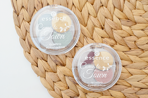 Essence Come To Town Quattro Eyeshadow