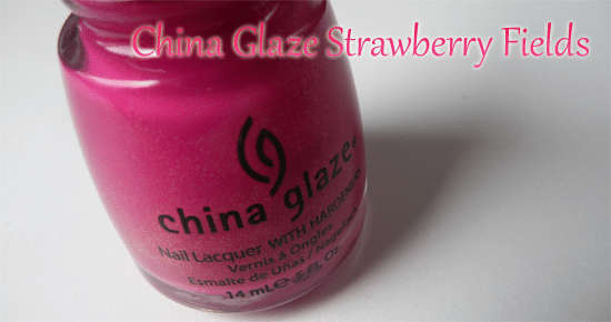 China Glaze Strawberry Fields