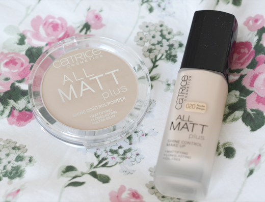 Catrice All Matt Plus Foundation + Powder