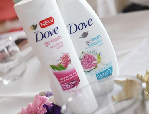 Altijd een fris gevoel met Dove Go Fresh!