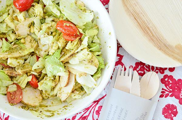 Frisse Kip Pesto Salade