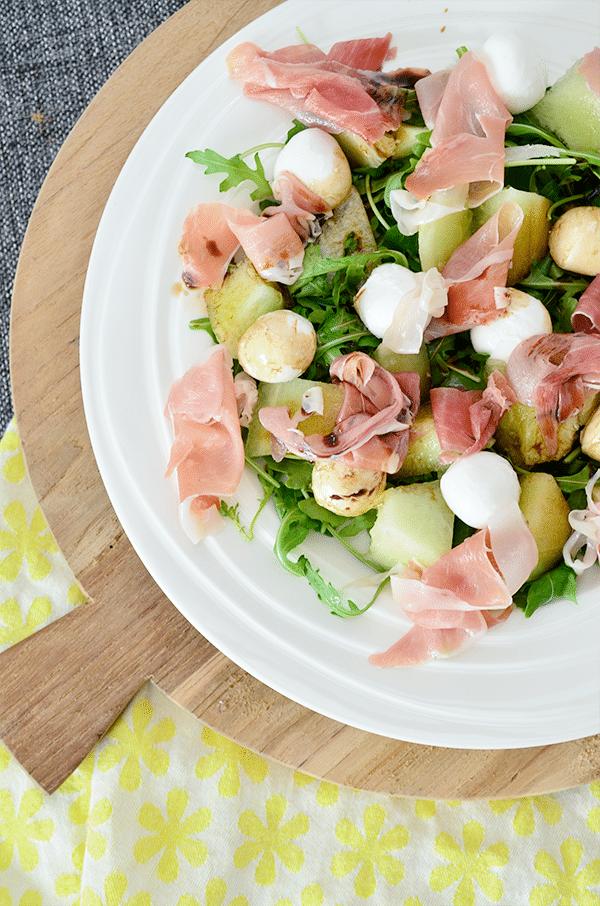 Galia meloen salade