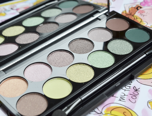 Sleek Garden Of Eden Palette